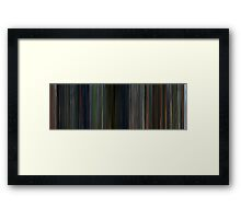 Moviebarcode: Battle Royale (2000) Framed Print