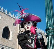 Carnavale di Venezia Masks VI by Louise Fahy