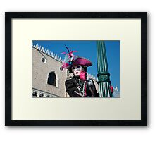 Carnavale di Venezia Masks VI Framed Print