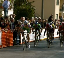 Sprinter(semi pro bike race) Firenze /Tuscany Italy by bertipictures