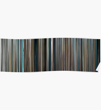 Moviebarcode: The Big Blue / Le grand bleu (1988) Poster