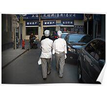 shanghai chefs Poster