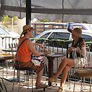 Having a Coffee - Tomando un Café by PtoVallartaMex