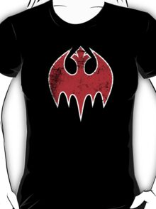 Rebel Bat (Distressed) T-Shirt