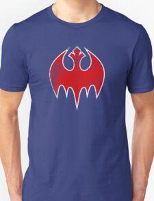 Rebel Bat (Distressed) Unisex T-Shirt