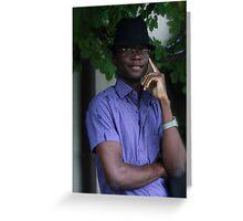 Hallo..hallo... by Brown Sugar. Greeting Card