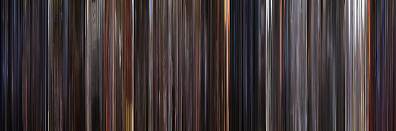 Moviebarcode: E.T.: The Extra-Terrestrial (1982) by moviebarcode