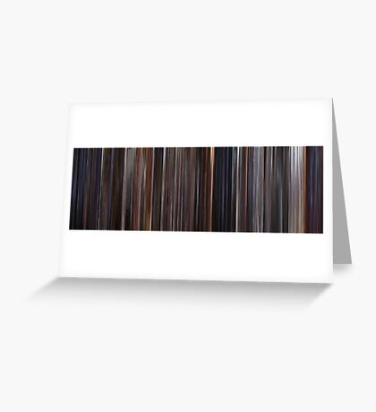 Moviebarcode: E.T.: The Extra-Terrestrial (1982) Greeting Card