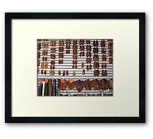 Sandals - Sandalias Framed Print
