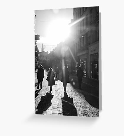 Under the winter' sun Greeting Card