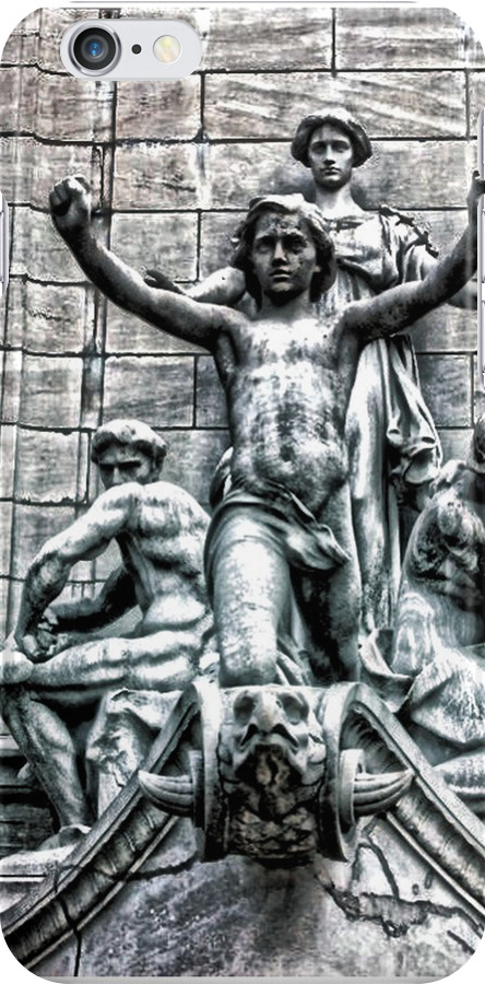 Columbus Circle Statue by Robin Lee