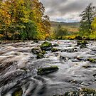 Autumn Rapids by Adrian Evans