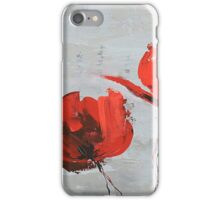 Poetry and Poppies iPhone Case/Skin