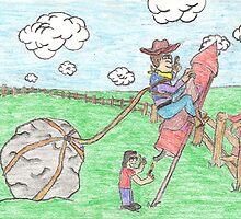 Rodeo Rocket by DrewSomervell