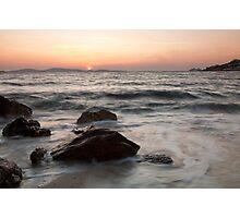 Mykonos beach Photographic Print