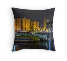 Brilliant Boats and Buildings Throw Pillow
