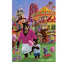 animal fun fair Photographic Print