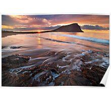 El medano sunrise Poster