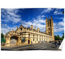 Magdalen College - Oxford, England Poster
