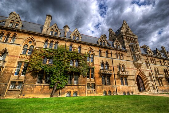 Christ Church College - Oxford, England by Yhun Suarez