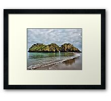 St Catherines Island Tenby Framed Print