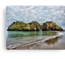 St Catherines Island Tenby Canvas Print