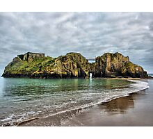 St Catherines Island Tenby Photographic Print