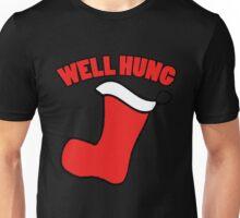 Well hung funny Christmas Shirt Unisex T-Shirt