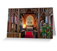 The Chancel Greeting Card