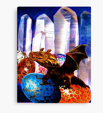 Dragons Lair, Falcor the Feared Canvas Print