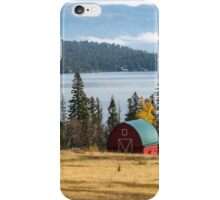 The Barn at Milepost 87 iPhone Case/Skin