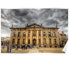 Clarendon Building - Oxford, England Poster
