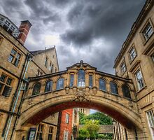 Bridge Of Sighs - Oxford, England by Yhun Suarez
