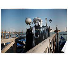 Carnavale di Venezia Masks VIII Poster