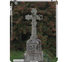 Granite headstone iPad Case/Skin