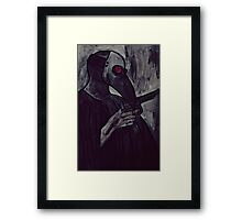 agent of plague Framed Print