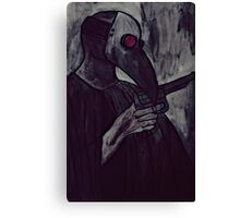agent of plague Canvas Print