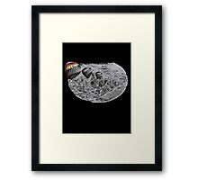 Away with Gray Framed Print