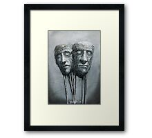 Who cares Framed Print