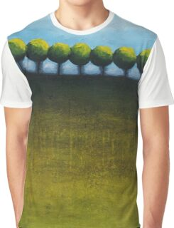 Faraway Abstract landscape Graphic T-Shirt