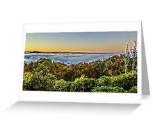 Blue ridge parkway Greeting Card