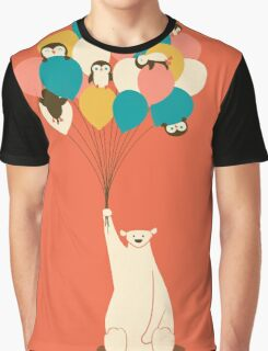 Penguin Bouquet Graphic T-Shirt