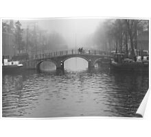 On the bridges of Amsterdam Poster