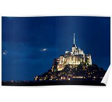 Le Mont Saint Michel Poster