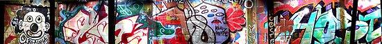 Brooklyn Graffiti Pano3 by andytechie