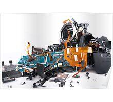 Broked DSLR camera Poster