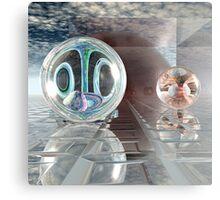 Spherology Metal Print