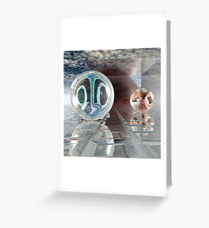 Spherology Greeting Card
