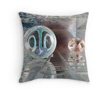 Spherology Throw Pillow