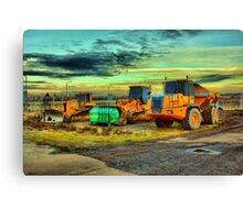 Plant equipment Canvas Print